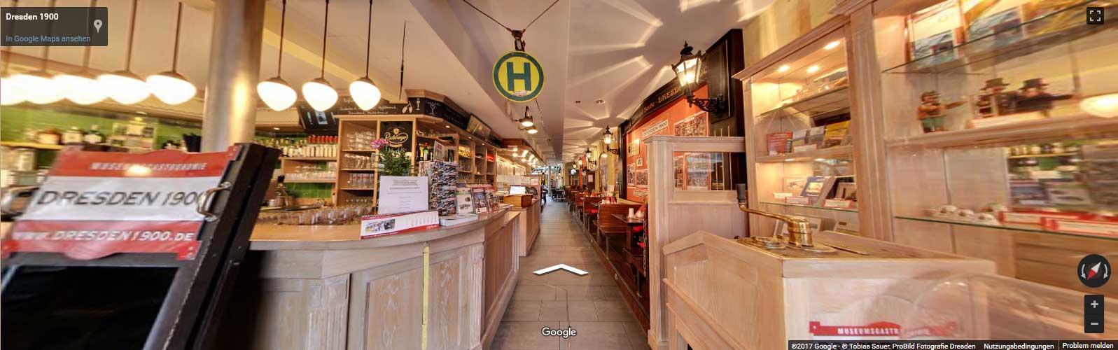 360° Rundgang durch unser Restaurant an der Frauenkirche