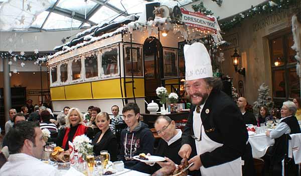 Weihnachtsbrunch in Dresden