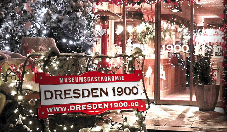 Dresden 1900 zu Weihnacht